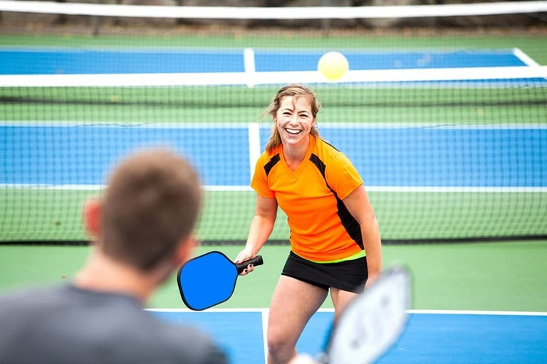 Lotus clubhouse Pickleball
